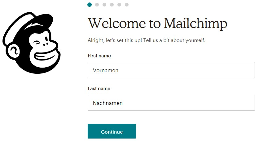 Welcome MailChimp